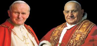 Misa por la canonización de Juan XXIII y Juan Pablo II