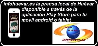 infohuevar.es, ya esta también en APP para móviles android y tablet