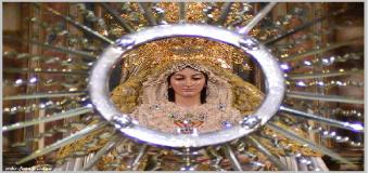 La Virgen de la Soledad luce en el Altar Mayor ante las Fiestas de Mayo