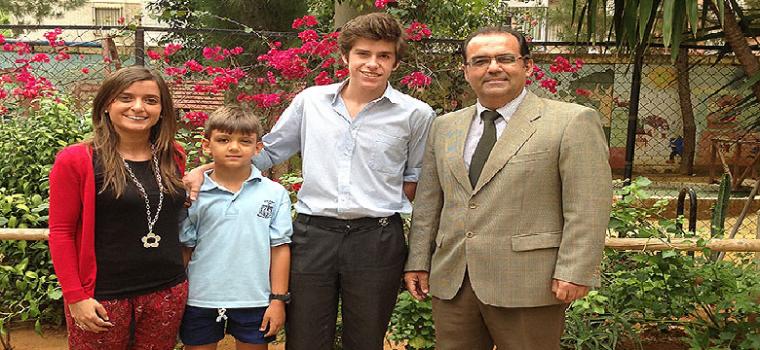 Fernando Martinez Hervas a la derecha de la imagen