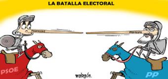 El domingo día de elecciones en Huévar del Aljarafe