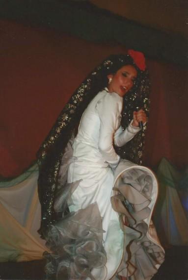 Archivo: Actuación en Play-Back de Isabel Pantoja