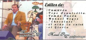 Manuel Reyes en la Radio de Pilas