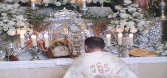 Huévar del Aljarafe celebro el día del Corpus el domingo