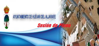 El Ayuntamiento de Huévar celebra Pleno