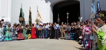 Huévar se presenta ante la Ermita del Rocío