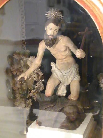 Imagen del Apóstol Santiago que se encuentra en la Capilla de la Sangre