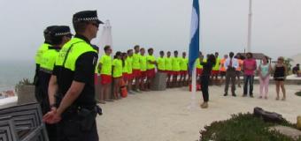 La bandera azul ondea de nuevo en Matalascañas