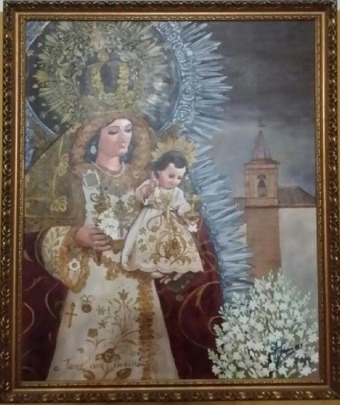 Cartel de Fiestas de Septiembre 2014 pintado por Javier Anguas