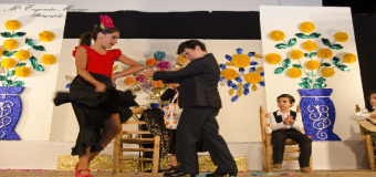 Exito de los niños y niñas de la Hdad. de la Soledad que interpretaron a las estrellas