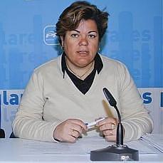 Mª Eugenia Moreno Portavoz del PP en Huévar