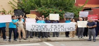 La Corporación municipal de Huévar apoya a los alumnos de la Escuela Taller
