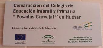 Huévar del Aljarafe  inaugurará este curso escolar con un nuevo centro educativo