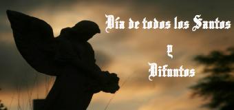 Agenda Parroquial (horario Misas Todos los Santos y Difuntos para el mes de noviembre)