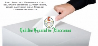 La Hdad. de la Sangre inicia el proceso de elecciones