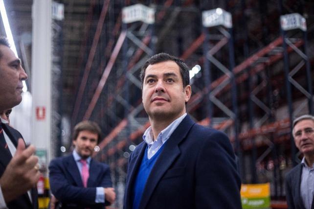 Moreno muestra su apoyo a los creadores de empleo en Andalucía