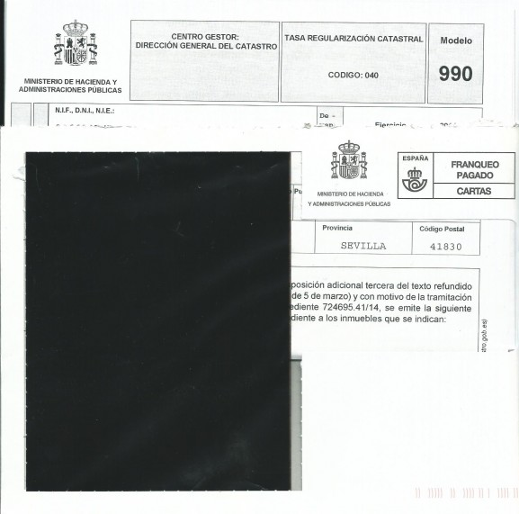 Cartas de regularización catastral que han recibido muchos domicilios Hervenses
