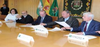 La Diputación firma convenios de colaboración con asociaciones de discapacitados y de Alzheimer