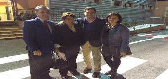El Presidente del PP Andaluz visito las instalaciones de Mercadona en Huévar del Aljarafe