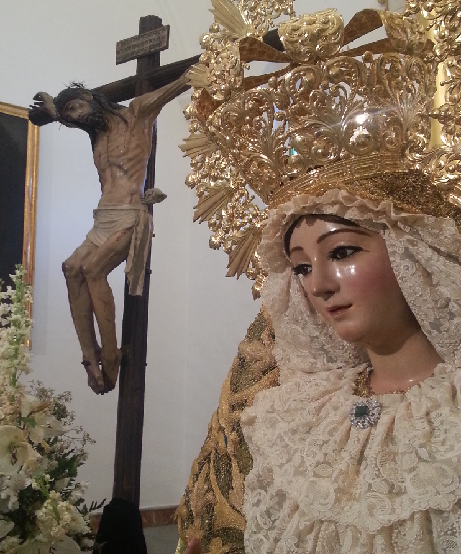 Maria Santisima de la Sangre y Cristo de la Vera-Cruz