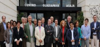 ASAJA-Sevilla muestra la labor formativa desarrollada en el Centro Guadiamar en una multitudinaria visita institucional