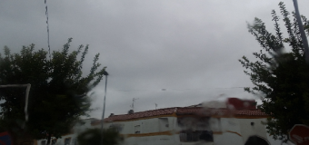 La alerta naranja deja en Huévar 50 Lm2 en ocho horas