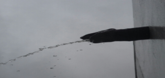 El temporal de lluvia descarga con fuerza en Huévar