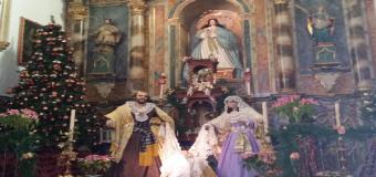 La Parroquía de Huévar del Aljarafe se viste de Navidad