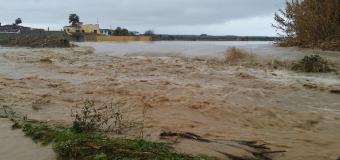 Fuertes lluvias en Huévar con 101 Lm2, cortan carreteras y casas inundadas
