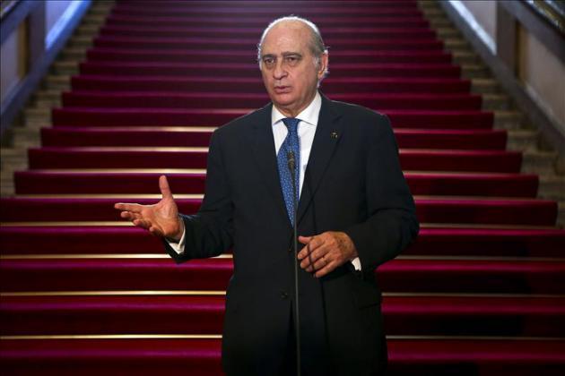 El ministro español de Interior, Jorge Fernández Díaz, lo ha anunciado hoy