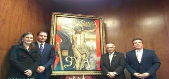 La Hdad. de la soledad en la presentación del cartel Semana Santa de Sevilla 2015