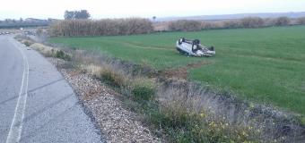Accidente en la vía de acceso a la Urb. Guadial