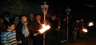 El sábado tuvo lugar el XXV Vía Crucis del Aljarafe en Itálica