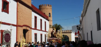Multitudinario Domingo de Ramos en Huévar