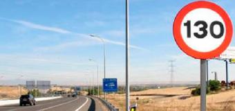 Tráfico permitirá ir a 130 por hora en 1.500 kilómetros de autovía en toda España