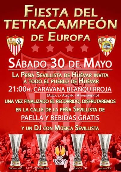 Fiesta Sevillista para el día 30 de mayo