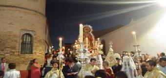 Día grande de la Virgen de la Soledad en Huévar del Aljarafe