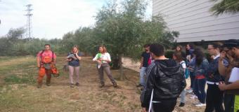 Universitarios del Grado de Geografía visitan el Centro Guadiamar