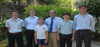 El profesor Fernando Martinez Hervas obtiene el primer puesto de la Mathleaghe