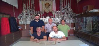 La Vera Cruz de los Palacios en el Pasacalles organizado por la Hdad. de la Soledad