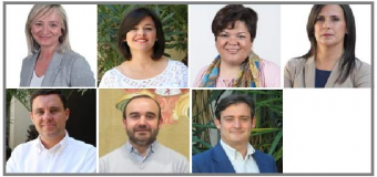 El PP de Sevilla ha designado hoy a sus siete diputados provinciales, entre la que esta la Portavoz M Eugenia Moreno