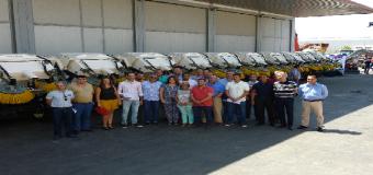 Supera.-Diputación entrega máquinas para limpieza de jardines a 93 municipios por valor de 3 millones de euros