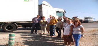 PP reclama la construcción de una rotonda en la A-8064 en Huévar