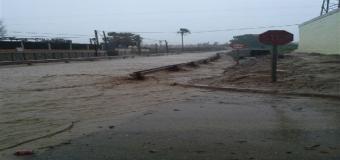 Carrión critica el «desinterés» de Junta y CHG para solucionar las inundaciones y alerta del riesgo
