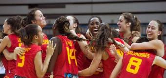La selección femenina sub-18, campeona de Europa de baloncesto