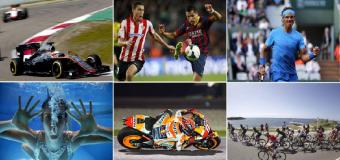 Fútbol, tenis, ciclismo, motor… el deporte no cierra en agosto