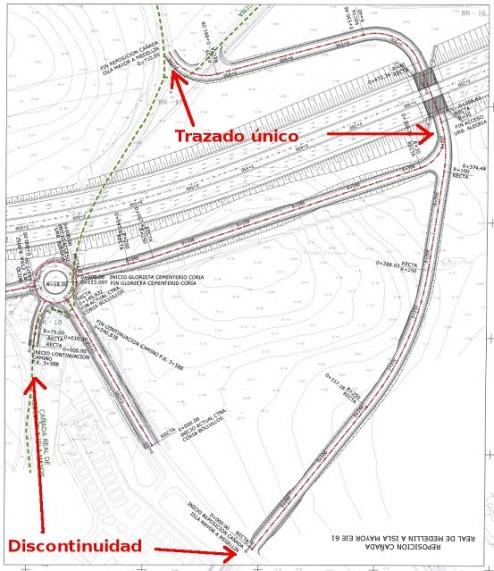 Detalle de un plano del Proyecto