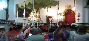 Multitudinario Santo Rosario de la Hdad. de la Sangre