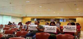 Se aprueba una moción contra la Ley Mordaza en el pleno de la Diputación, promovida por No Somos Delito Sevilla