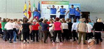 El II Encuentro Deportivo de Mayores Aljarafe-Doñana reúne a unos seiscientos mayores en Umbrete